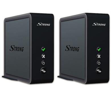 STRONG připojovací sada access pointů 1700 DUO/ 802.11n/ac/ 1700 Mbit/s/ 5GHz/ 2x LAN/ černý + DOPRAVA ZDARMA