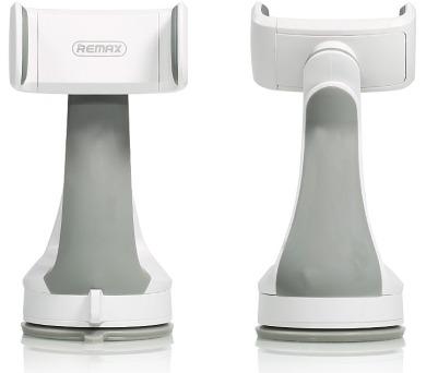 """REMAX držák telefonu do auta / RM-C15 / na palubní desku / podpora až 6"""" / bílo-šedý"""