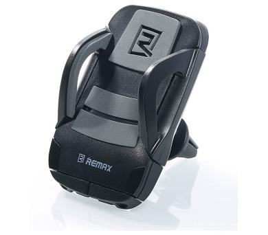 """REMAX držák telefonu do auta / RM-C13 / podpora 3,5"""" - 5,5"""" / do ventilační mřížky / šedý"""