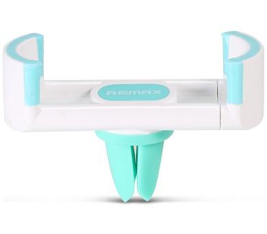 REMAX držák telefonu do auta / RM-C17 / do ventilační mřížky / podpora 55 - 85mm / bílo-modrý (RM-C17 white+blue)