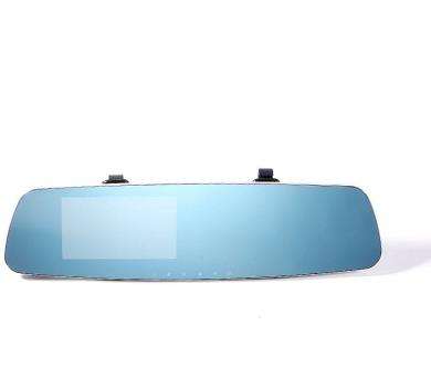 """REMAX kamera do auta / CX-03 / 4,3"""" / 1080p / duální kamera / MicroSD / ENG jazyk / uchycení na zpětné zrcátko"""