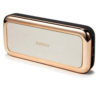 REMAX power banka 10000mAh / RPP-36 / výstup 2x USB 2.0 typ A samice / zlatá