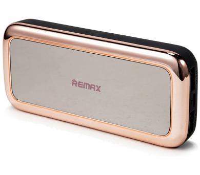 REMAX power banka 10000mAh / RPP-36 / výstup 2x USB 2.0 typ A samice / růžovo-zlatá