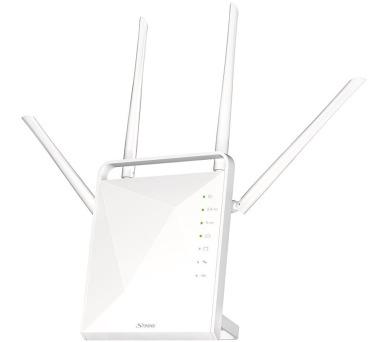 STRONG dvoupásmový router 1200/ Wi-Fi standard 802.11ac/ 1200 Mbit/s/ 2,4GHz a 5GHz/ 4x LAN/ 1x WAN/ 1x USB/ slot micro + DOPRAVA ZDARMA