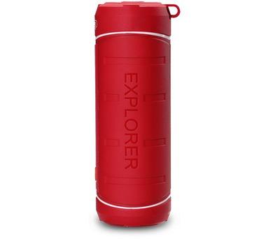 REMAX přenosné repro M10 / Bluetooth / outdoorové / 2*5W / červené
