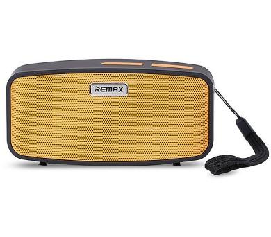 REMAX přenosné repro M1 / Bluetooth / 2*3W / oranžové