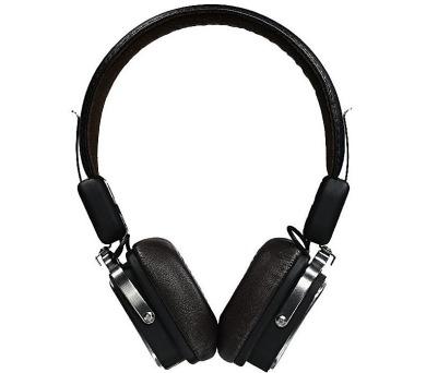REMAX náhlavní sluchátka RB-200HB / bezdrátová / 3,5mm jack / 1,2m / černá