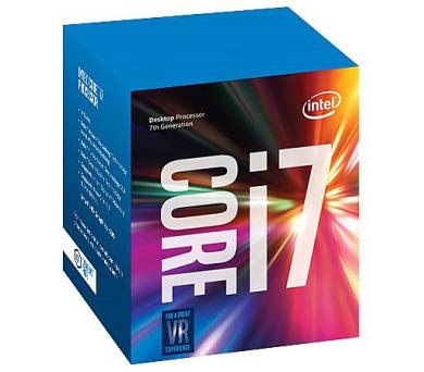 INTEL Core i7-7700 / Kaby Lake / LGA1151 / max. 4,2GHz / 4C/8T / 8MB / 65W TDP / BOX (BX80677I77700)
