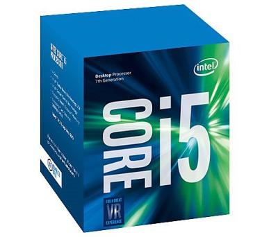 INTEL Core i5-7400 / Kaby Lake / LGA1151 / max. 3,5GHz / 4C/4T / 6MB / 65W TDP / BOX (BX80677I57400)