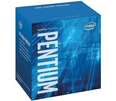 INTEL Pentium G4600 Kaby Lake / 2 jádra / 3,6GHz / 3MB / LGA1151 / 51W TDP / BOX