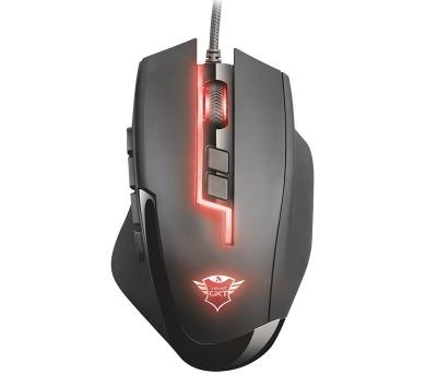 Trust GXT 164 Sikanda MMO herní myš / nastavitelné RGB podsvícení / 5000DPI / programovatelná / 12 tlačítek