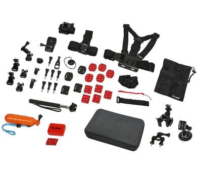 Rollei XL sada příslušenství pro outdoor/ 47ks pro kamery ROLLEI a GoPro (21643)