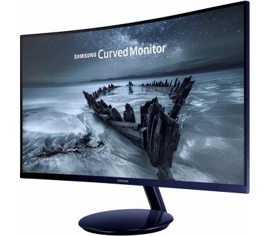 """SAMSUNG 27"""" C27H580 FullHD/ 1920x1080/ Prohnutý/VA/ 16:9/ 4ms/D-Sub/ Display port/ HDMI"""