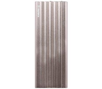REMAX power banka 20000mAh / Vanguard series / výstup 2x USB 2.0 typ A samice / zlatá