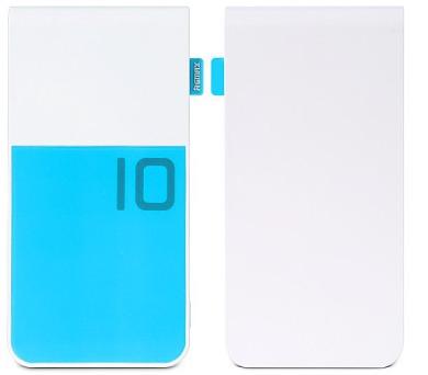 REMAX power banka 10000mAh / Colorful series / výstup 2x USB 2.0 typ A samice / modrá
