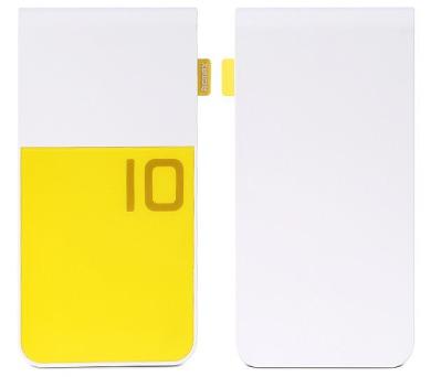 REMAX power banka 10000mAh / Colorful series / výstup 2x USB 2.0 typ A samice / žlutá
