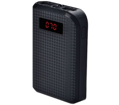 REMAX power banka 10000mAh / PPL-11 / výstup 2x USB 2.0 typ A samice / černá