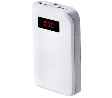 REMAX power banka 10000mAh / PPL-11 / výstup 1x USB 2.0 typ A samice / bílá