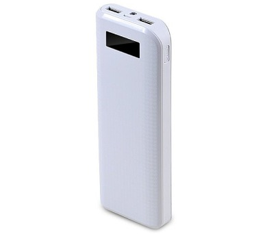 REMAX power banka 20000mAh / PPL-12 / výstup 2x USB 2.0 typ A samice / bílá