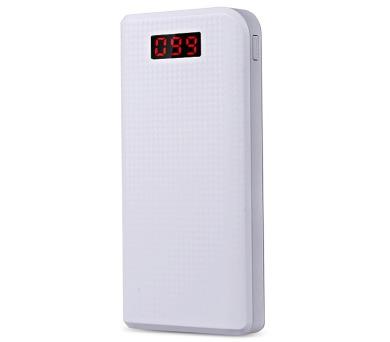 REMAX power banka 30000mAh / PPL-14 / výstup 2x USB 2.0 typ A samice / bílá