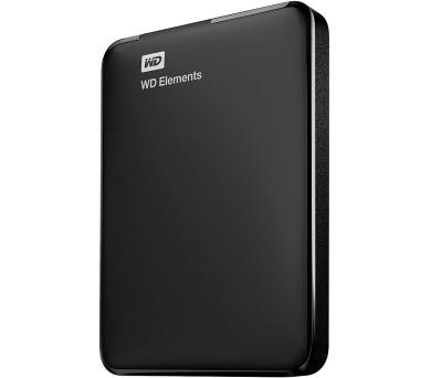 """WD HDD Elements Portable 750GB / Externí 2,5"""" / USB 3.0 / Černý"""