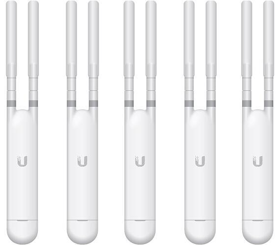 UBNT UniFi AP AC Mesh 5-pack bez PoE!!,vnitřní/venkovní AP,2.4GHz (300Mbps) + 5GHz (867Mbps),2x2 MIMO,802.11a/b/g/n/ac