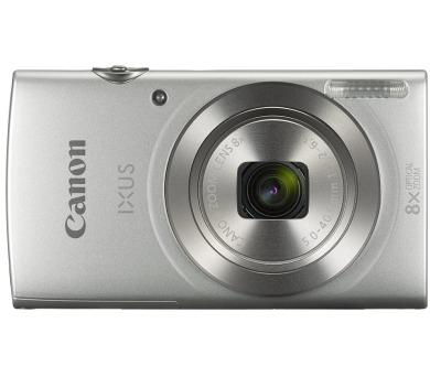 """Canon IXUS 185/ 20 MPix/ 8 x zoom/ 2,7"""" LCD/ HD video/ Stříbrný (1806C001)"""