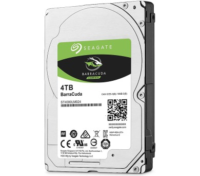 "Seagate BarraCuda 4TB HDD / ST4000DM004 / Interní 3,5"" / 7200 rpm / SATA 6Gb/s / 256MB"