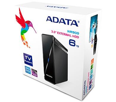 "ADATA HM900 6TB HDD / Externí / 3,5"" / USB3.0 / černý"