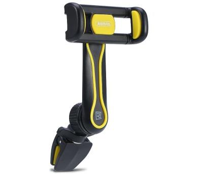 """REMAX držák na telefon RM-C24 / do ventilační mřížky / podpora 3"""" - 6"""" / černo-žlutý"""