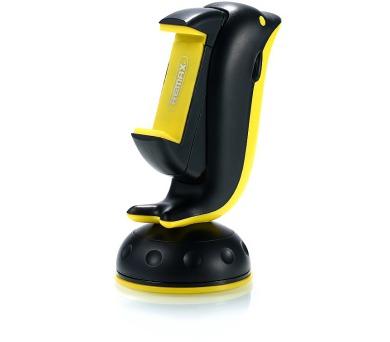 """REMAX držák na telefon RM-C20 / na palubní desku / podpora 3"""" - 6"""" / černo-žlutý"""
