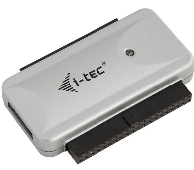 "I-TEC USB 2.0 redukce na IDE 3,5""/2,5"" + SATA s napájecím adaptérem 230 V"