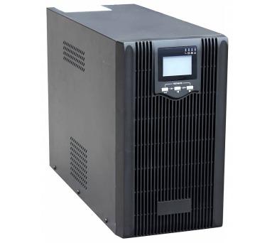 EUROCASE záložní zdroj EA620 2000VA / 2000VA / USB / RJ45 / LCD Displej / Pure sine way + DOPRAVA ZDARMA