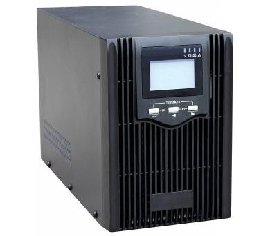 EUROCASE záložní zdroj EA610 1000VA / 1000VA / USB / RJ45 / LCD Displej / Pure sine way + DOPRAVA ZDARMA