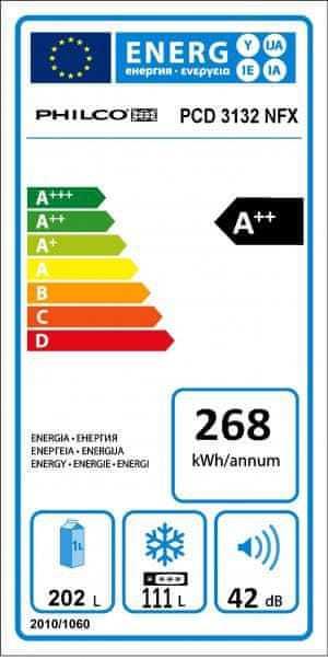 Energetický štítek Philco PCD 3132 NFX