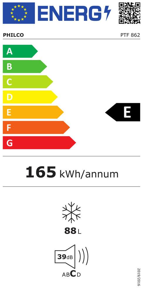 Energetický štítek Philco PTF 862
