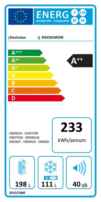Energetický štítek Electrolux EN3201MOW