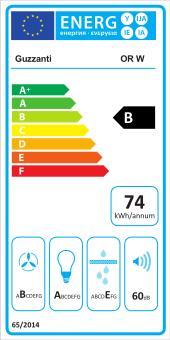 Energetický štítek Guzzanti ostrůvkový GZ ORW nerez