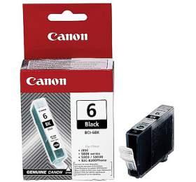 Canon BCI-6Bk, 210 stran originální - černá