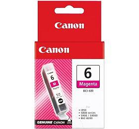 Canon BCI-6M, 210 stran originální -červená