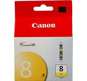 Canon CLI-8Y, 420 stran originální - žlutá