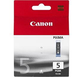Canon PGI-5Bk, 340 stran originální -černá