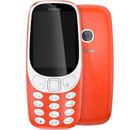 NOKIA 3310 DS, červený