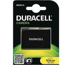 DURACELL Baterie -DRNEL14 pro Nikon EN-EL14, černá, 950 mAh, 7.4 V