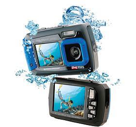 "EasyPix W1400 Active vodotěsný 3m, CMOS 14Mpx, 2,7"" LCD, modro-černý"