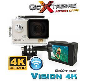 EasyPix GoXtreme Vision, 4KUltra HDAction, Wi-Fi, bílá, vodotěsná