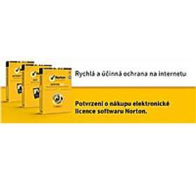 NORTON SECURITY DELUXE 3.0 CZ1 UŽIVATEL 5ZAŘÍZENÍ 12MĚSÍCŮ -ELEKTRONICKY KLIC
