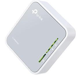 TP-Link TL-WR902AC AC750 Mini Pocket Wi-Fi Router, 802.11ac/a/b/g/n, 3G/4G, 1x10/100 WAN/LAN, 1xUSB2.0