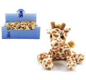 Žirafa plyš 14cm 18ks vboxu