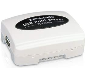 TP-Link TL-PS110U Print Server Single USB 2.0, RJ45 100Mbit